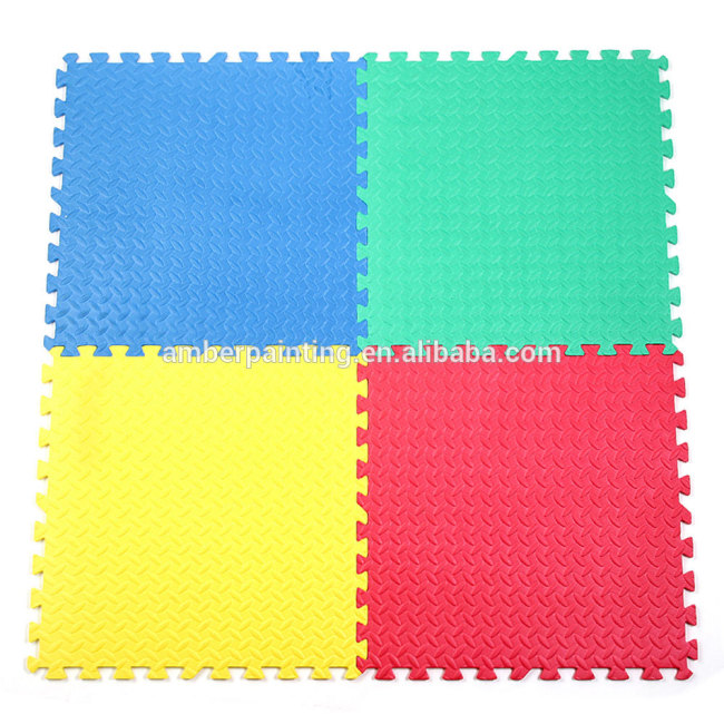 foam tatami puzzle 4cm plain table tennis mat baby antislip gym mat