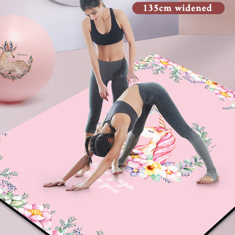 High quality customization yoga block red  printed yoga block natural