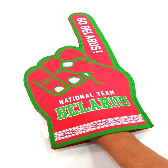 design your own foam finger custom EVA foam middle finger