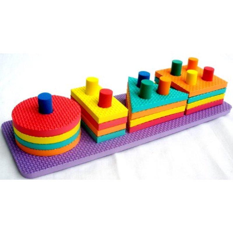 2018 New design eco friendly custom kids eva foam toys