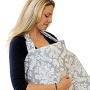 nursing for breastfeeding pillow cover scarf with 100% cotton fabric