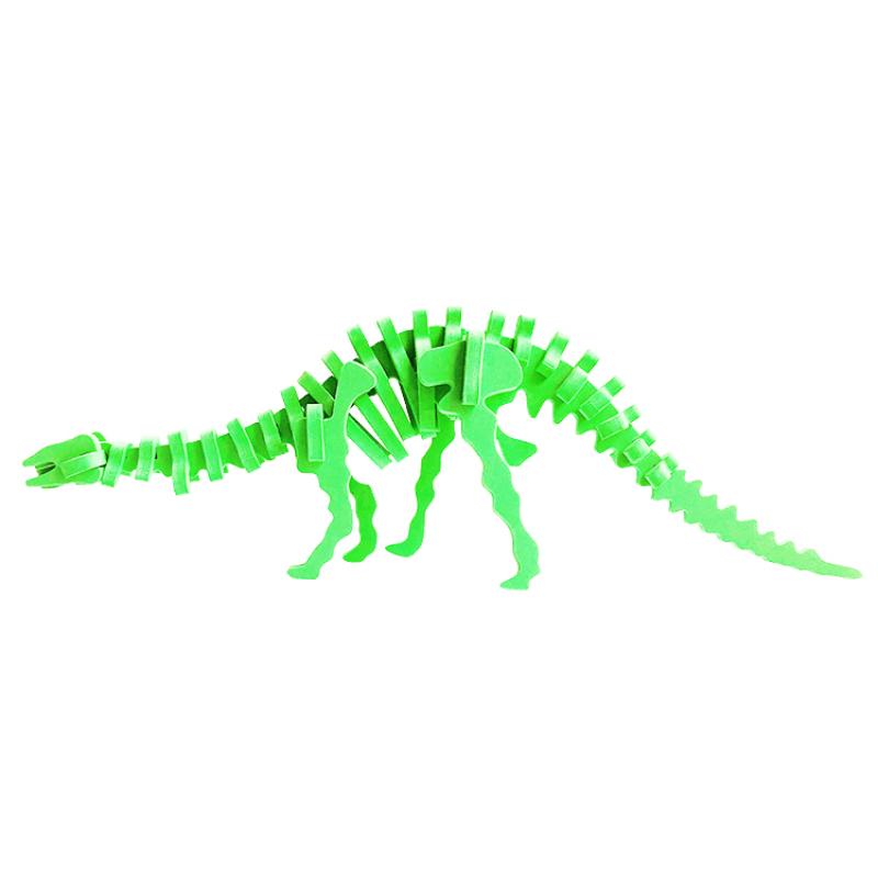 A313 Educational dinosaur small foam 3d dinosaurus puzzle