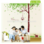 Family living room kids bathroom wall stickers or kitchen sticker decorations for wall