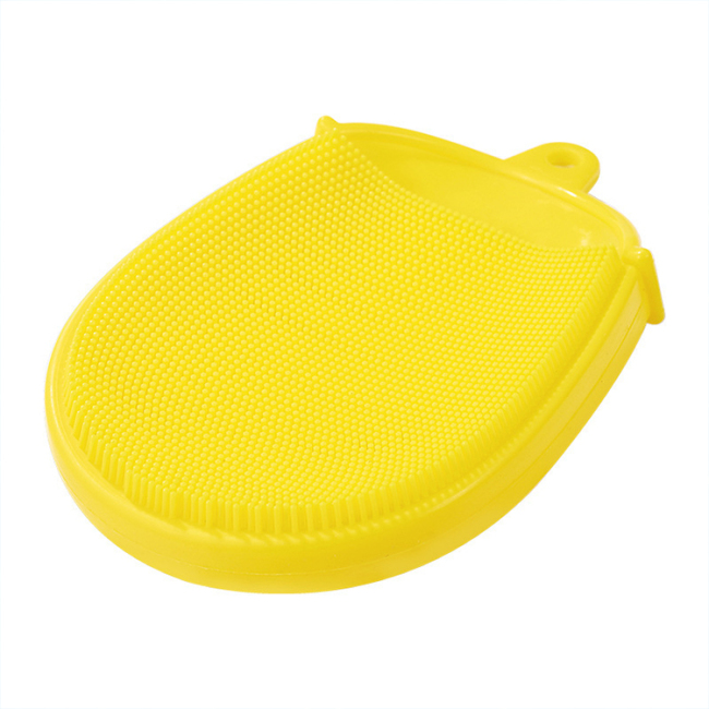 Silicone bath Shower Brush for kids