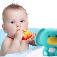 High quality baby squeaky   mini bath tub toy mini bath toys squeaky bath toy