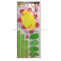 Cheap new arrival adhesive paper with eva sticker