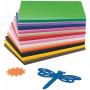 colorful Kid's craft 6mm printed eva foam sheet