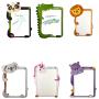 Custom 2020 new cartoon animal kids and child soft whiteboard magnetic wall sticker kids message board