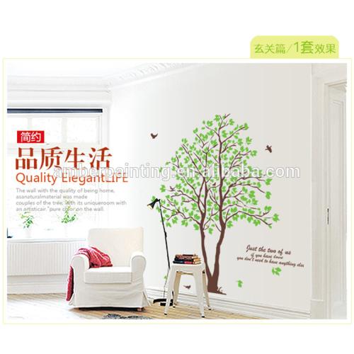 Family kitchen wall sticker a couple of trees decor sticker