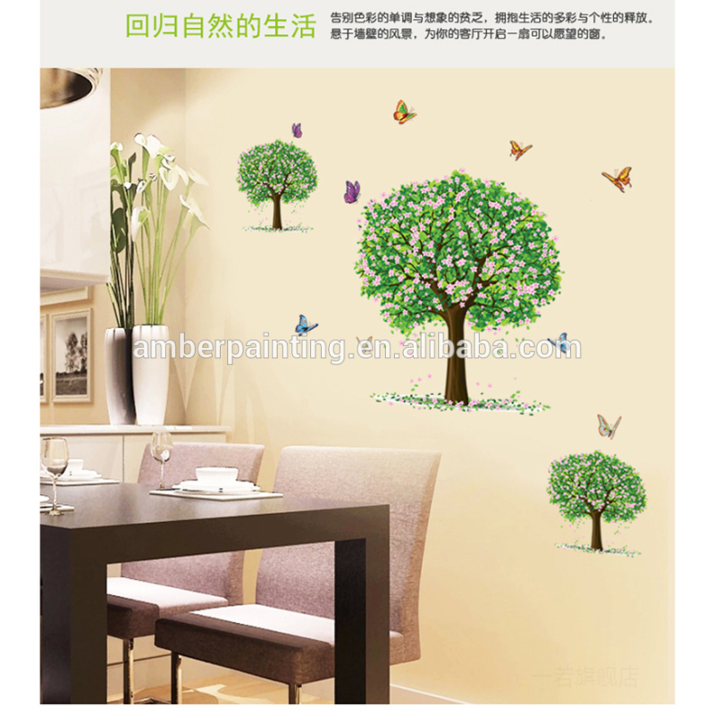 nursery school or family wall decal stickers bathroom cheap wall art stickers