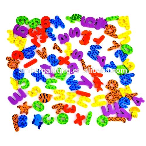 low price popular baby boy foam bath time toy for kids