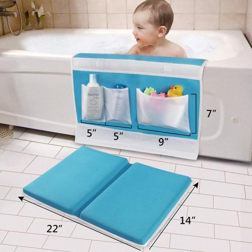 Cheap safety comfortable folding baby bath kneeling pad