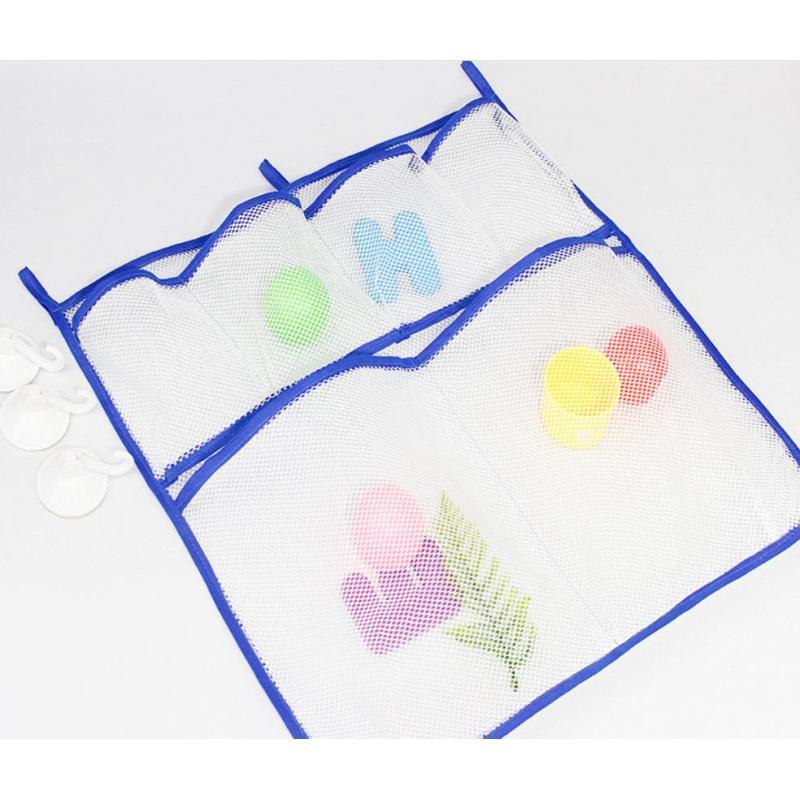 Factory custom wholesale Bathroom Organizer Net Bag Bath Toys Bag Mesh Bath Toy Organizer