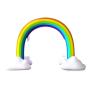 inflatable water rainbow sprinkler splash and play mat