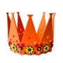 EVA foam hat custom crown design foam party hat for birthday