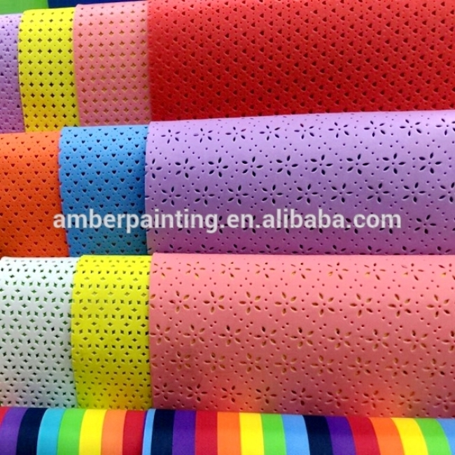 Custom shape cutting self adhesive rubber eva foam sheet 8mm