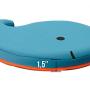 2019 hot sale baby bath time whale bath kneeler pad