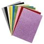 Eco friendly kids crafts self adhesive glitter eva foam sheet