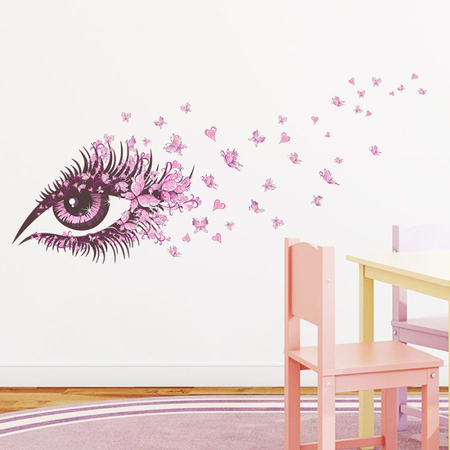 Wholesale butterfly PVC house wall sticker decor