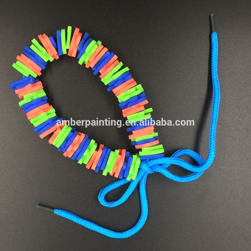 custom diy eva foam necklace toys craft set for kids