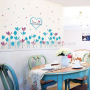 girl asian bird vinyl family wall decals removable art culture vinyl