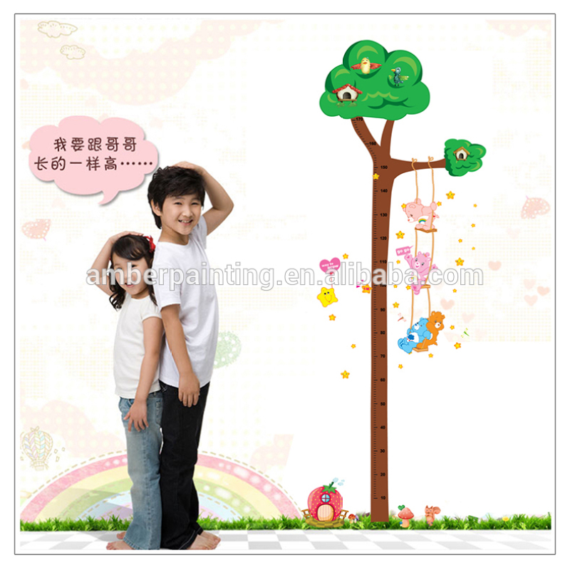 Family kids white room wall sticker tree beauty sticker