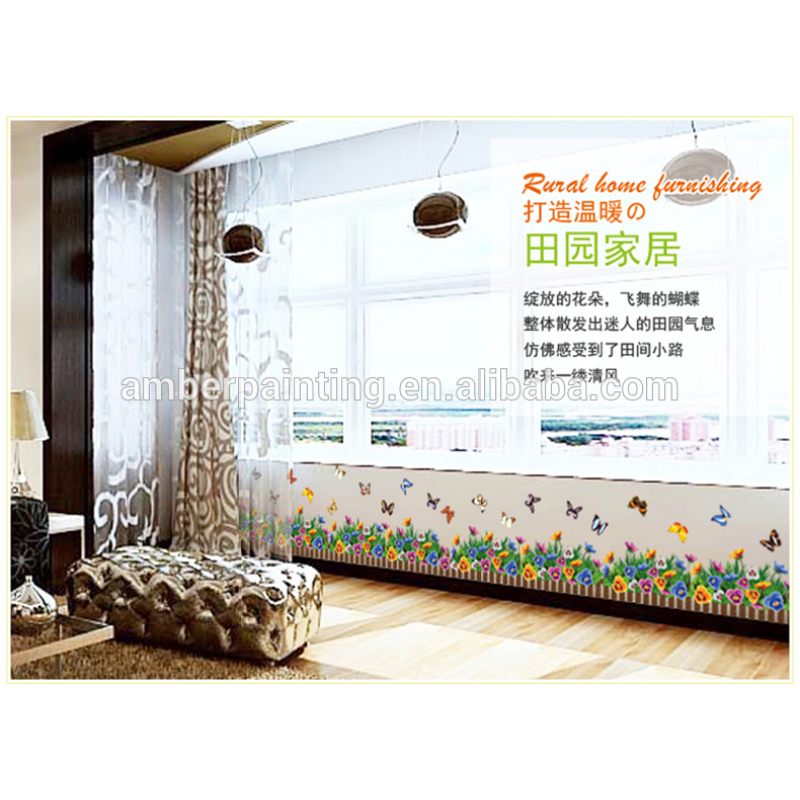 nursery school or family children butterfly wall stickers bathroom white wall vinyl sticker