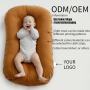 OEM high quality baby nest round baby bed portable Infant Cribs portable travel crib white baby nest