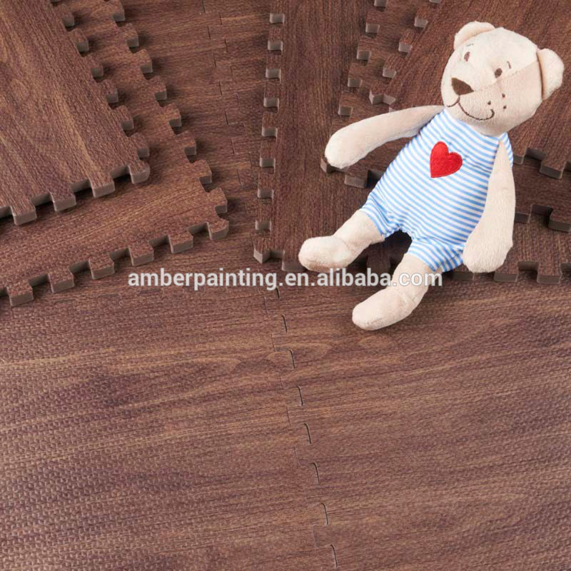 cheap foam coating baby activity play gym mat floor mat supplier
