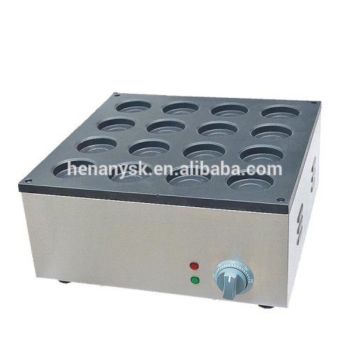 IS- FY-2233A 16 Holes Electric Obanyaki Maker Electrothermal Non Stick Red Bean Cake Maker