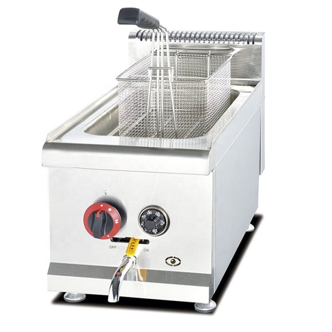 6L LPG Gas Deep Fryer Home Natural Gas Deep Fryer