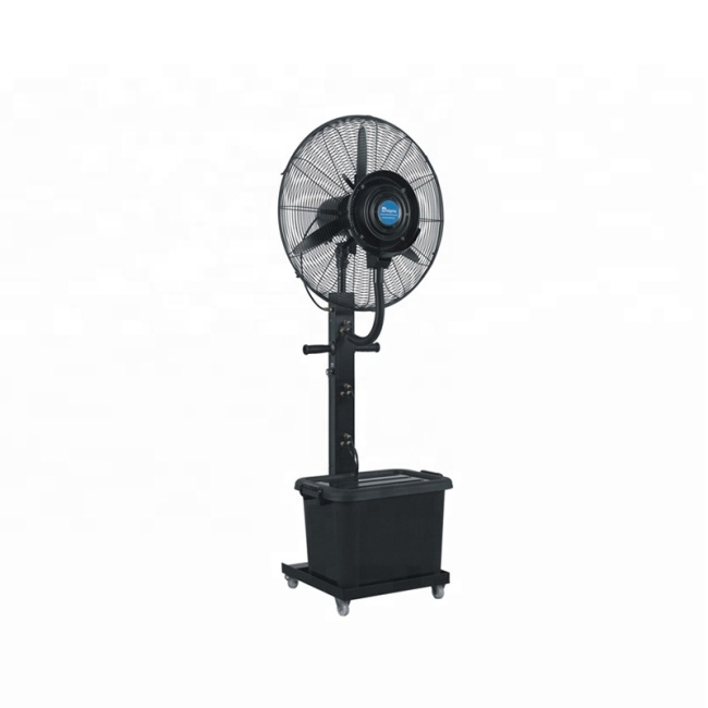 Wholesale Mini Electric Pedestal Air Stand Outdoor Cooling Cooler Water Spray Mist Fan With best Price