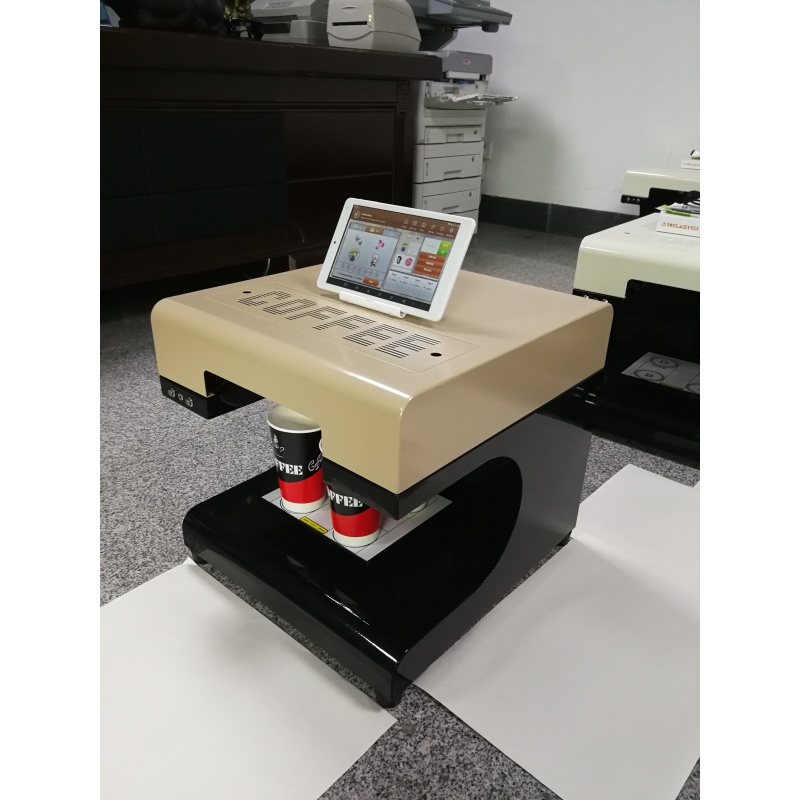 2019 Android System Cappuccino 3d Let's Edible Cake Selfie Latte Art Printing Machine Coffee Latte Printer Face Machine Price