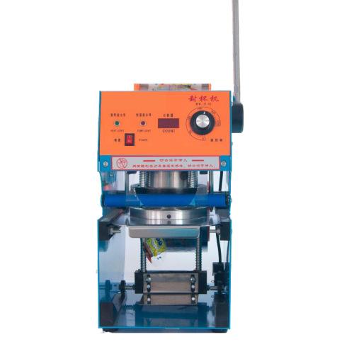 75mm 95mm 90mm Manual Plastic Cup Sealer Sealing Machine 110v / 60hz