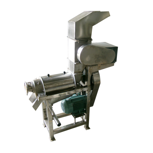 0.1~0.5T/H Industrial Automatic Apple Orange Vegetable Juicer Apple Crusher and Juicer Double Helix Juicer for Sale