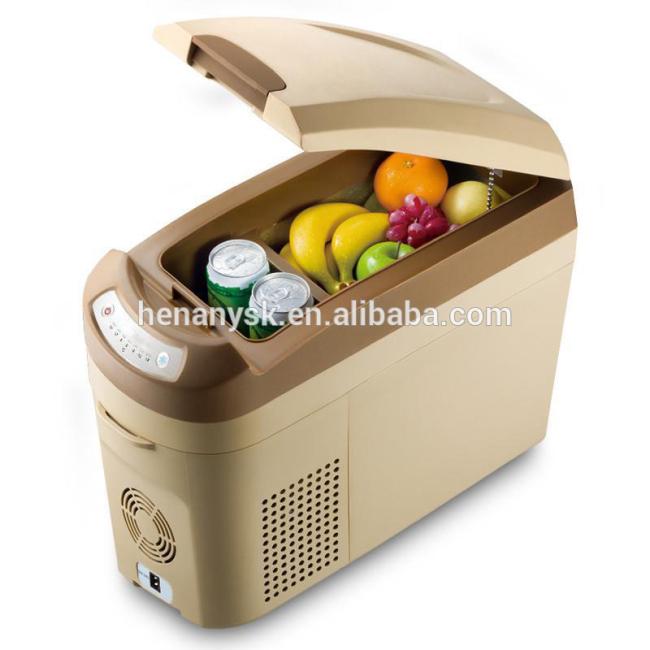 Car Home Dual Purpose Compressor Mini Car Portable Fridge Freezer Refrigerator