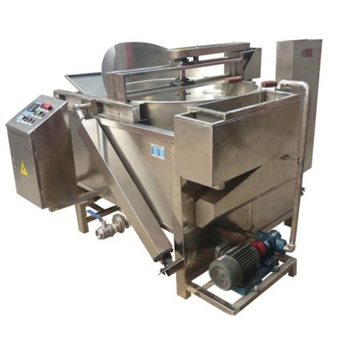 IS-ZEYZ-D Stainless Commercial Automatic Oil Fryer Constant Temperature Oil-Frying Machine Oil-Water Separation Type Equipment