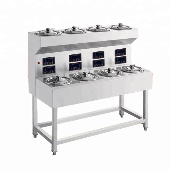 4 /6 / 8/ 9 12 Boilers New Designed Commercial Kitchen Professional Free Standing Stainless Steel Electric Ranges