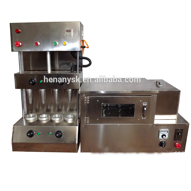 2018 new Oven Biscuit Maker Box Rolled Sugar Baking Automatic For Ice Cream Snow Cone Pizza Making Machine