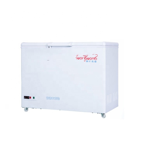 CE ISO +2~+8 Hospital 180L/280L/380L Vaccine Refrigerator Agaist Power Off Medical Cryogenic Chest