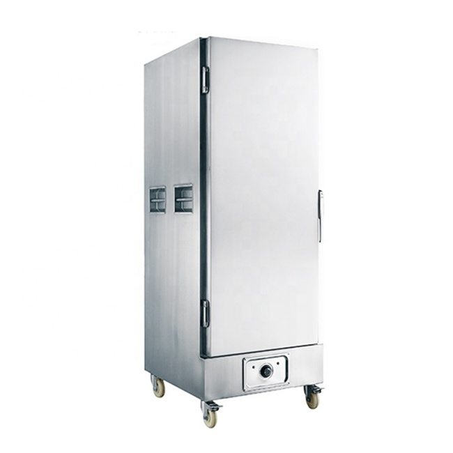 High-Capacity Vertical Commercial Food Warmer 16 Layer Thermal Insulation Cabinet