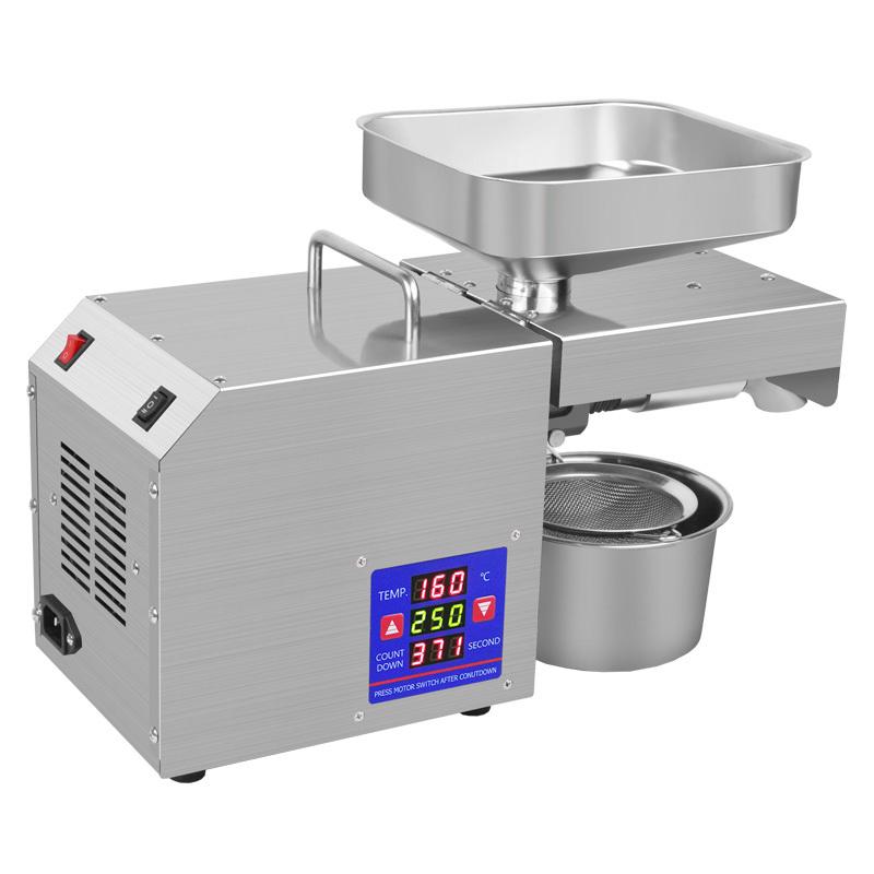 Oil Press Machine Making Refining Sunflower Hot Motor Hen Food Technical Sales Video Support