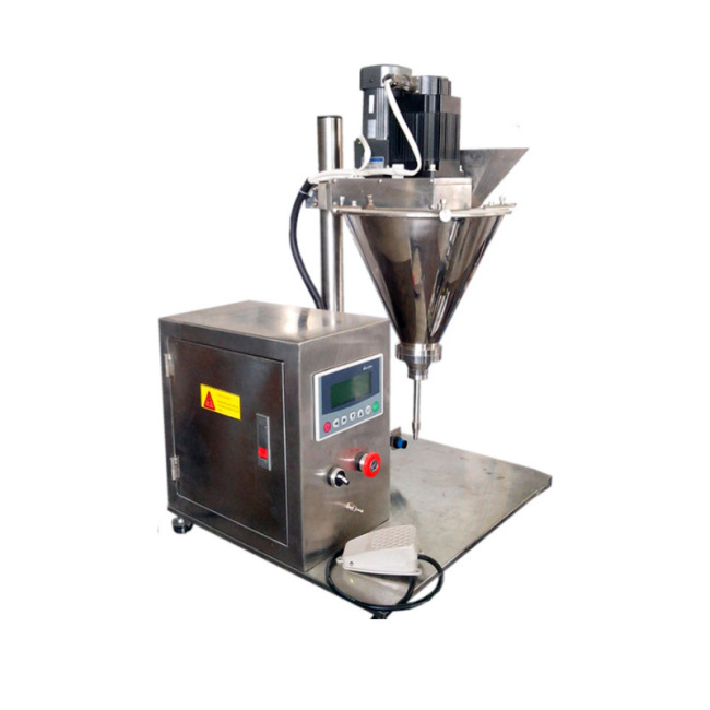 1-30g SS304 Stainless steel PLC operation 6L Semi-automatic powder filling Filler machine