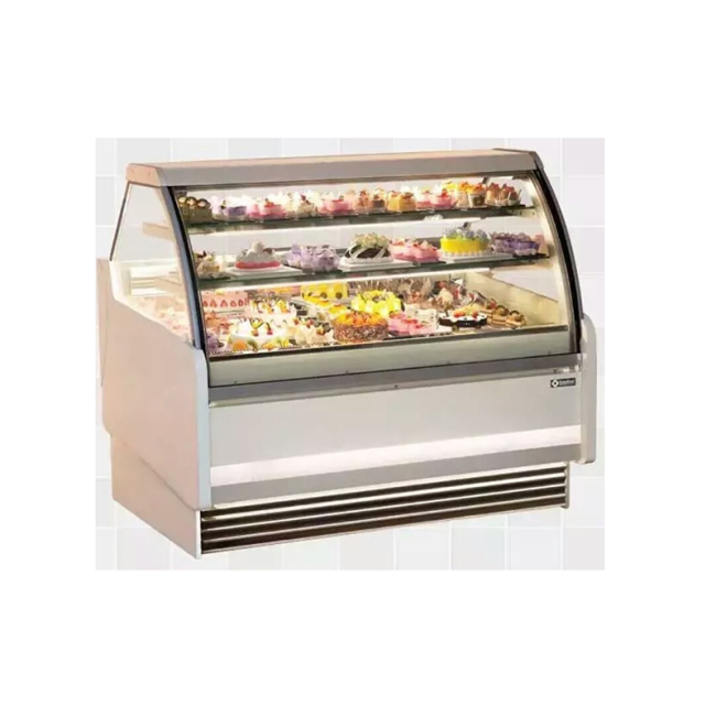 IS-1000 Popular New Style French Style Ice Cream Cosmetic Display Cabinet for Sale