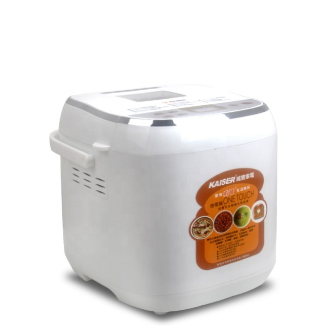110v 60hz Bread Maker LED Display The Capacity 500g 750g Mini Bread Machine For Sale