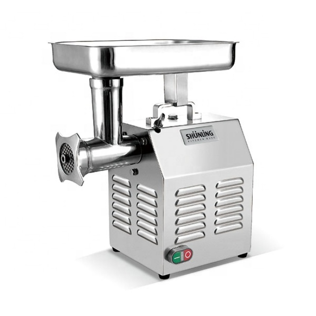 Quality Stainless Steel Commercial High-Efficiency Energy-Saving Electric Meat Grinder