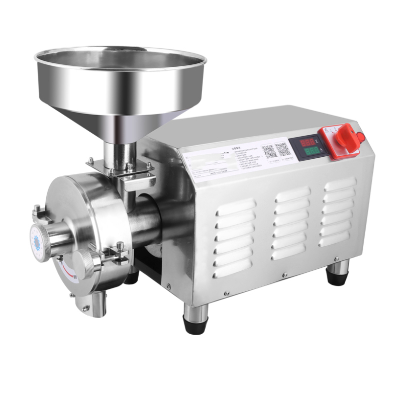 Stainless Steel Coffee Corn Grinding Machine Food Grinder Corn Wheat Grinder Mill Moulin a Cafe