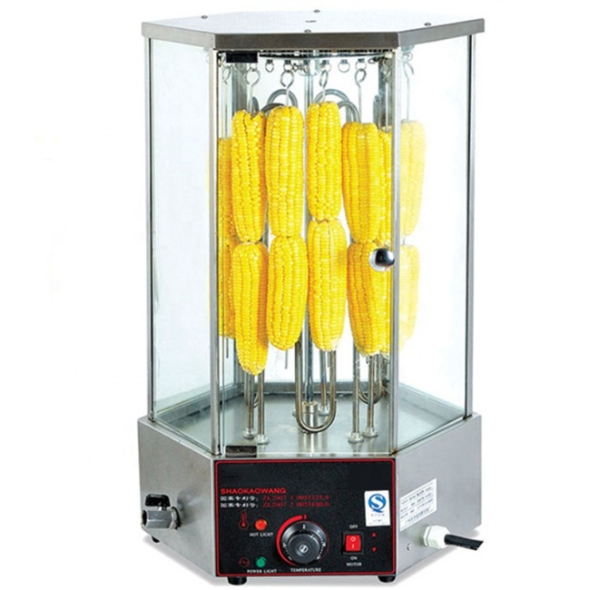 Stainless Steel EB-36-2 Electric Meat Corn Rotary Mutton Roaster Grills