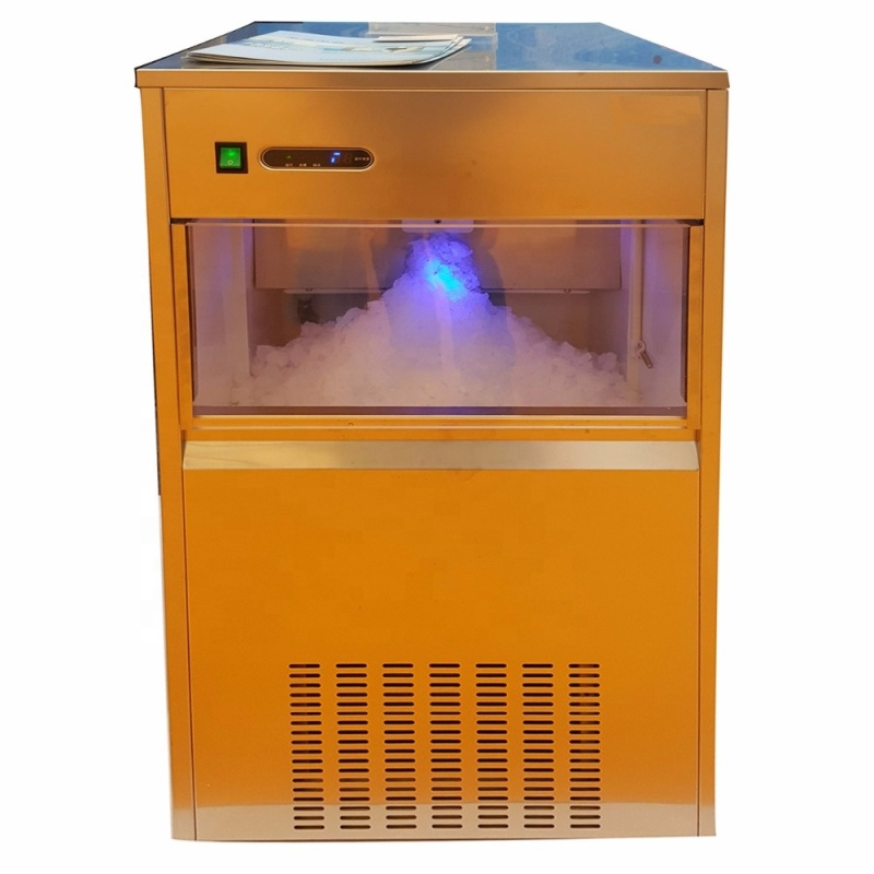 Commercial Manufacturer Snow Powder Ice  Flakes Making Machine Snowflake Ice Making Machine For Shops