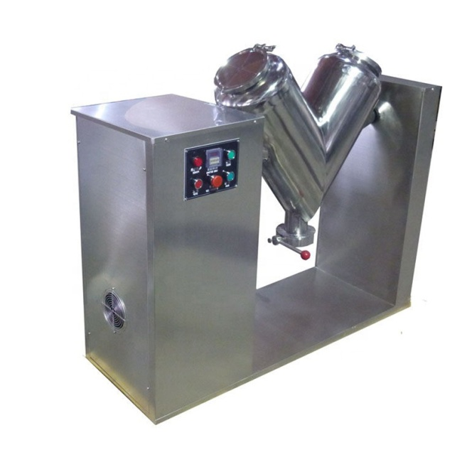 Durable V Shape Dry Powder Flour Chemical Mixing Equipment Mixer Machine for Sales